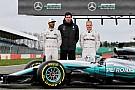 【F1】メルセデスW08発表。ハミルトン「寒いのにかなりグリップする」