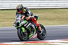 Des problèmes de pneus ont limité les ambitions des Kawasaki
