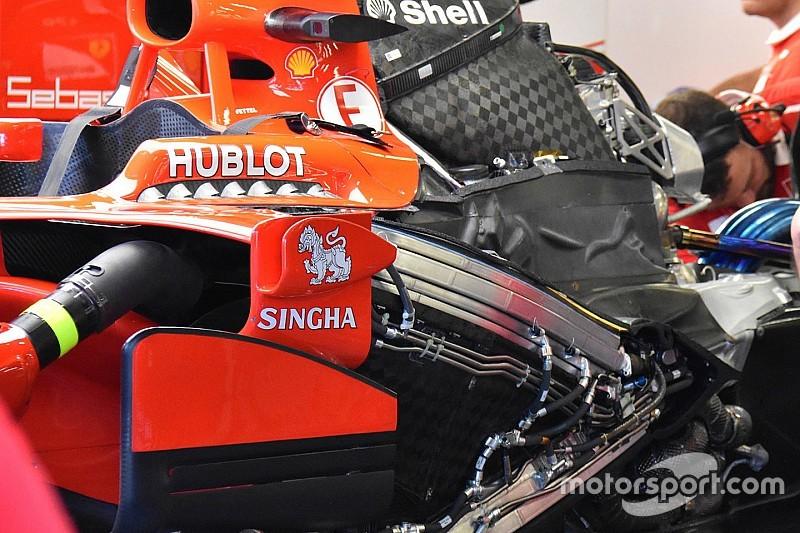 Третій двигун Ferrari не постраждав на старті Гран Прі Сінгапуру