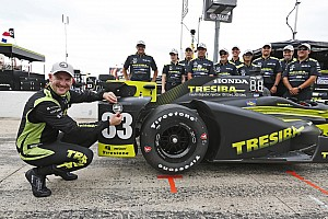IndyCar Qualifiche Charlie Kimball ottiene la prima pole in carriera in Texas
