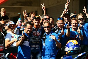 WSBK Réactions Pour Van der Mark, ce premier podium ne pouvait pas mieux tomber