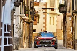 WRC レグ・レポート WRCスペイン:2日目のターマックでヒュンダイ苦戦。ミークが首位に浮上
