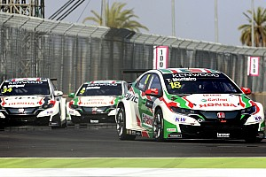 WTCC Reporte de la carrera Doblete de Honda y podio de Girolami en Marruecos