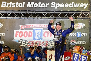NASCAR XFINITY Race report Kyle Busch completes second leg of Bristol trifecta with Xfinity win