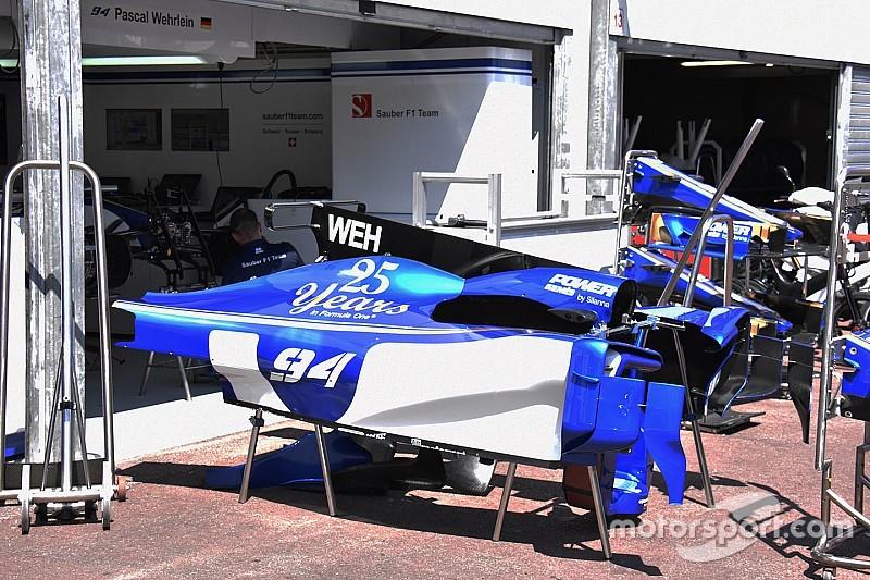 Sauber привезла в Монако отложенные с Барселоны обновления