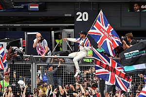 Formula 1 Special feature Story behind the photo: King Lewis among his people