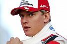 EK Formule 3 Schumacher snelste op eerste testdag EK F3