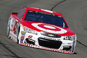 NASCAR Cup Race report Kyle Larson wins Stage 1 of Auto Club 400 after early drama