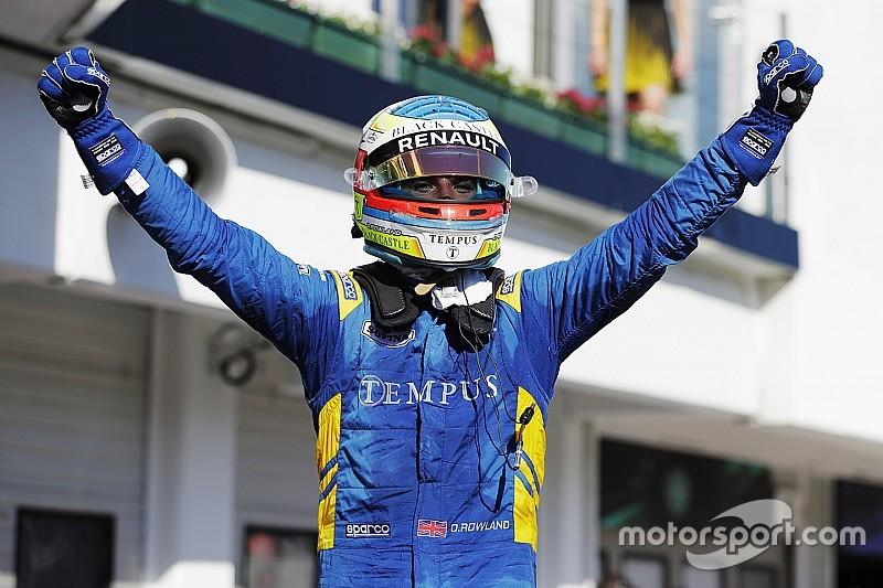 【F2ハンガロリンク】レース1:ローランドが2勝目。松下は5位入賞!