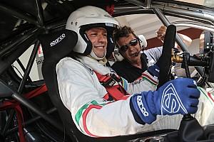 TCR Italia Conferenza stampa Stefano Accorsi: l'attore diventa pilota e corre con la Peugeot 308GTi