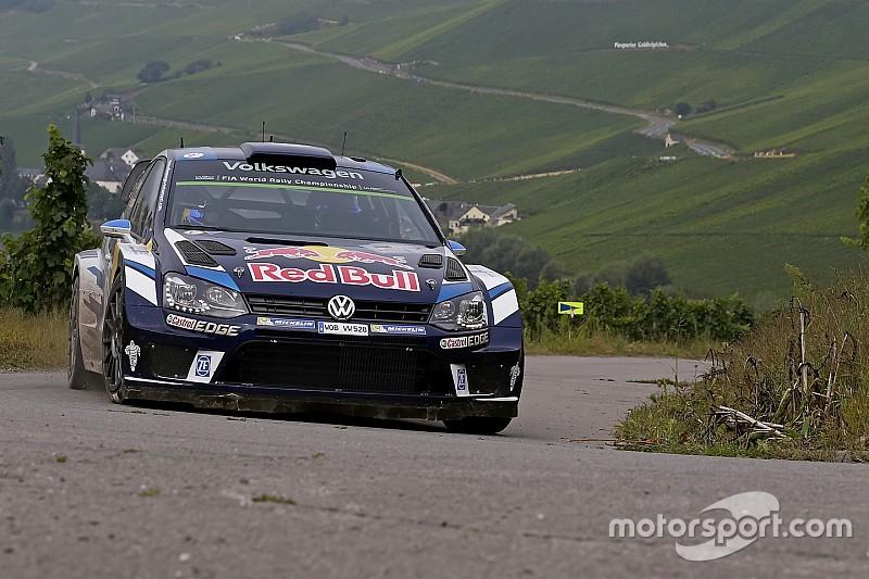 Germany WRC: Ogier takes the lead as crash halts rally