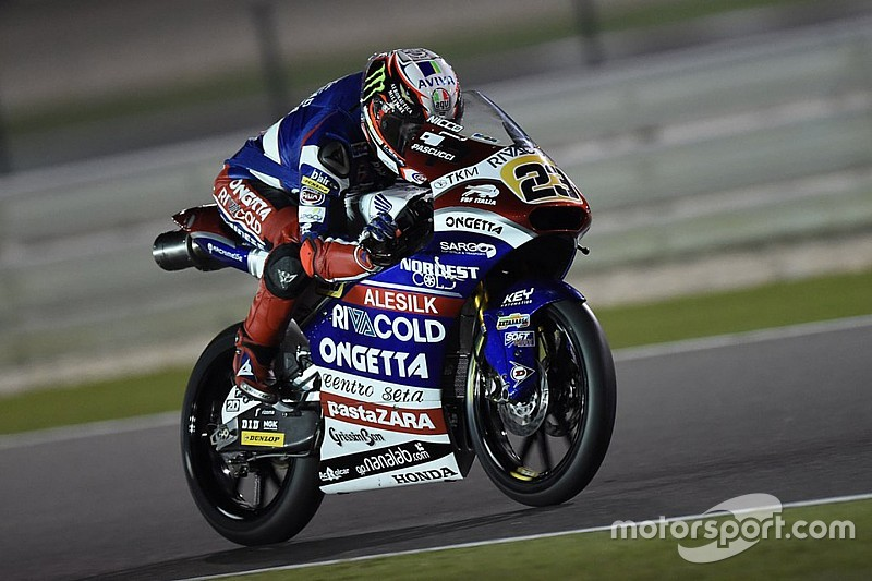 Antonelli beats Loi to end Moto3 testing on top