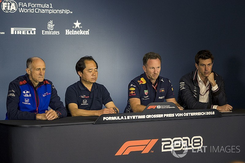 Austrian GP: Friday's press conference