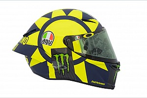 MotoGP Toplijst In beeld: De nieuwe helm van Valentino Rossi voor 2018