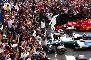 Hamilton ganó en Austin y quedó a las puertas del título