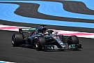 French GP: Hamilton tops second practice by seven tenths