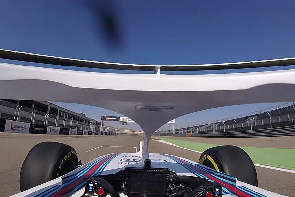 Forma-1 Motorsport.com hírek Megérkezett a halós onboard videó az új Williamsszel: figyeld Kubica súlyosan sérült kezét!
