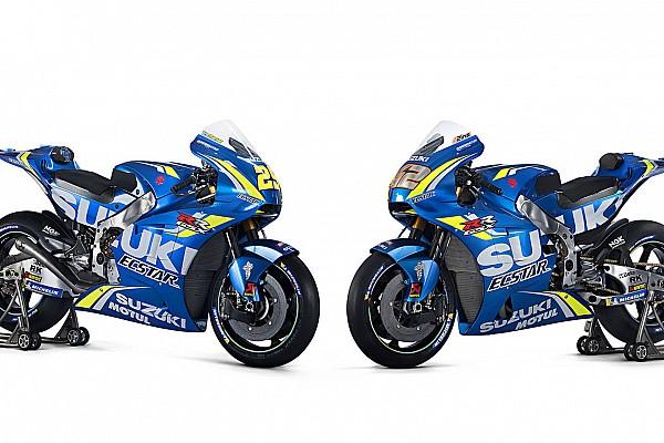 Suzuki показала мотоцикл MotoGP для сезона-2018