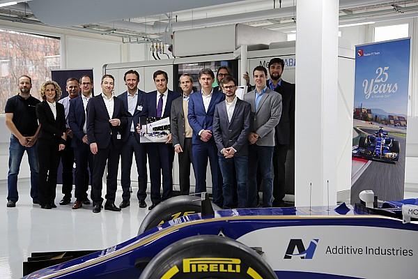 Formula 1 Curiosità La Sauber stamperà in... 3D i particolari della vettura!
