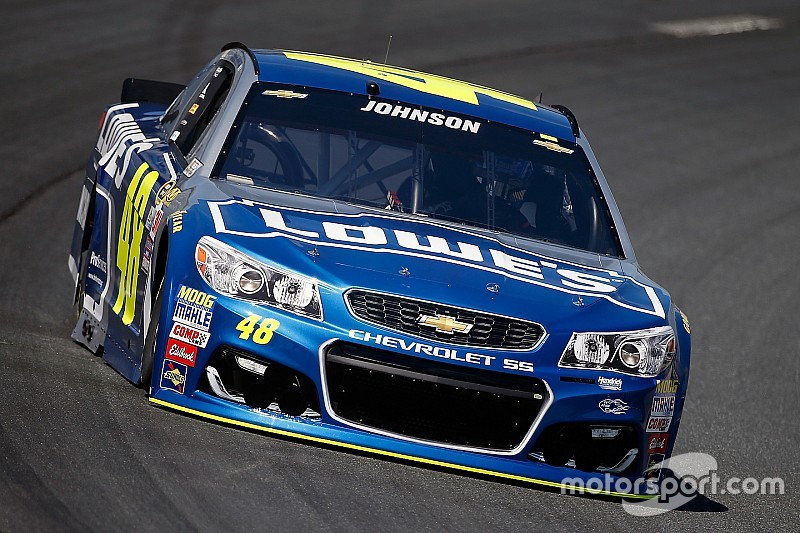Jimmie Johnson ecstatic to be back on top