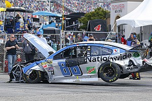 NASCAR Cup Breaking news Massive pileup halts NASCAR Sprint Cup race at the Monster Mile - video