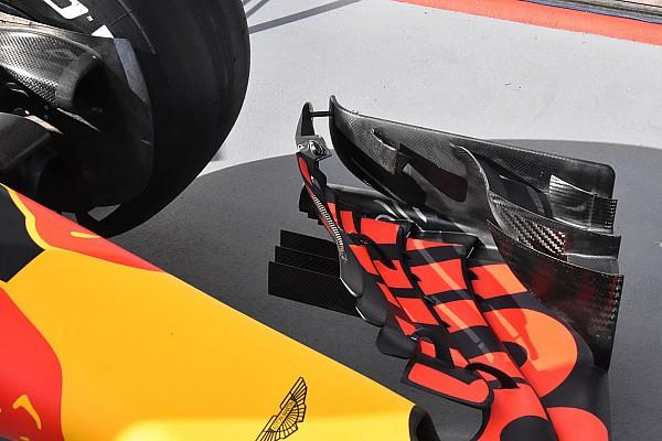Formule 1 Actualités Après les soupçons, Red Bull renforce son aileron avant