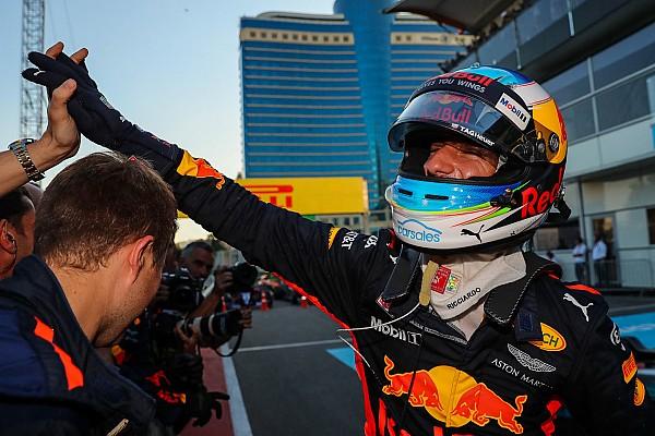 Ricciardo : La victoire à Bakou était
