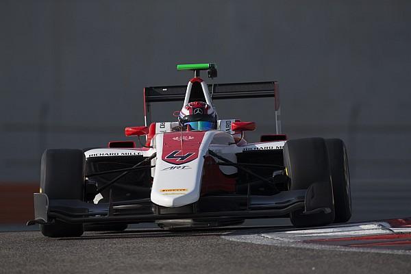 GP3 Russell dominates final day of GP3 post-season testing