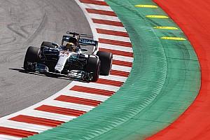 F1 Reporte de prácticas Hamilton le gana a Vettel en los libres 2 de Austria; Pérez, 17º