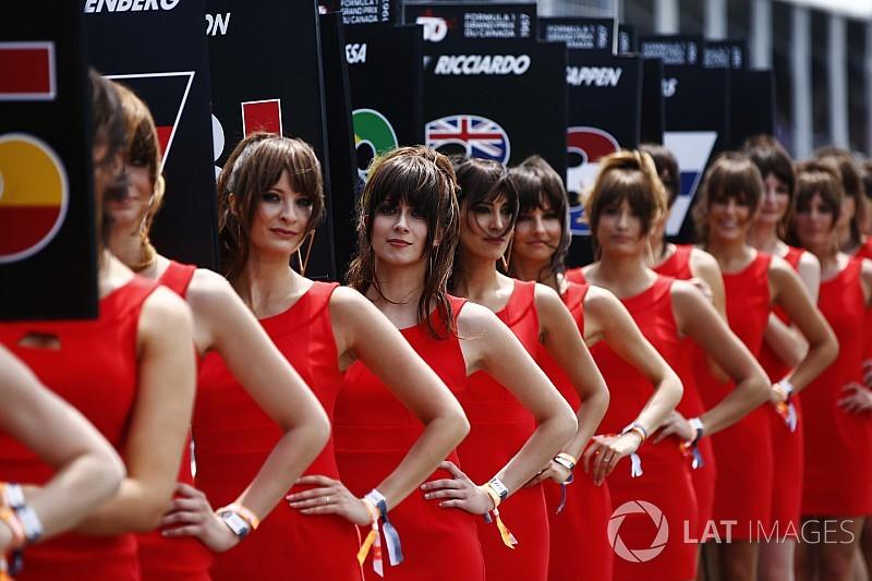 F1 fala em rever papel de grid girls em vez de eliminá-las