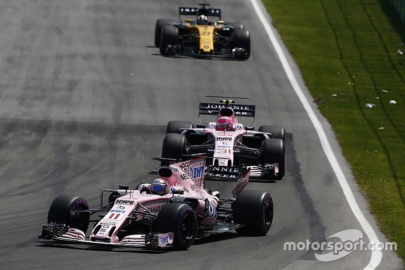 【F1】レース結果に満足のフォースインディア、交戦規定変更すると示唆