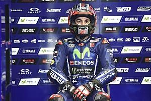 MotoGP Réactions Viñales sent le titre lui échapper :