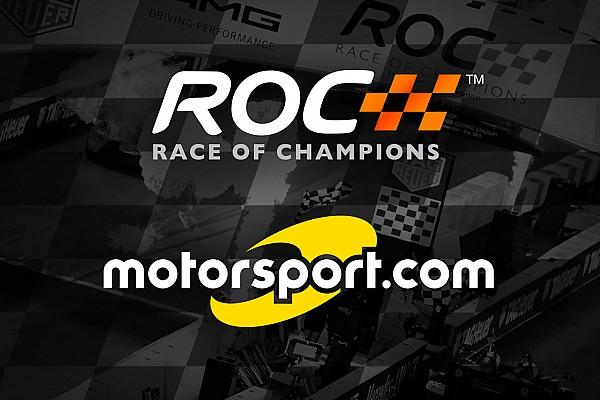 motorsport.com、レース・オブ・チャンピオンズの公式パートナーに