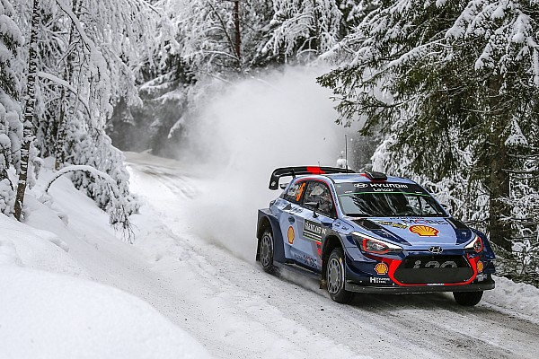 WRC Sweden WRC: Neuville extends lead, Tanak closes on Latvala