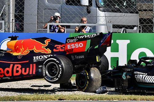 F1 muestra video 360° del choque de Hamilton y Verstappen