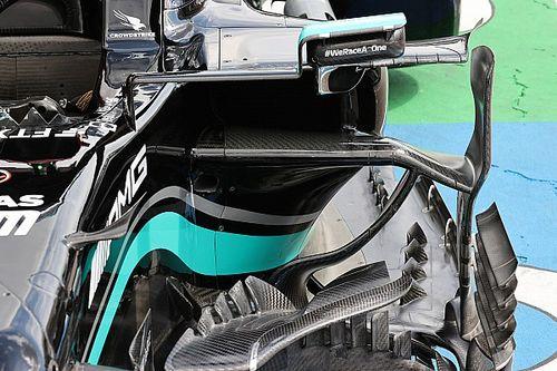 Mercedes: un occhio a quei flussi complessi della W12