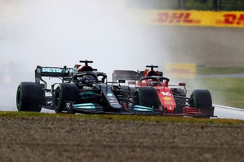 """Hayal kırıklığı yaşayan Leclerc: """"Yağmur ayarı yapmıştık"""""""
