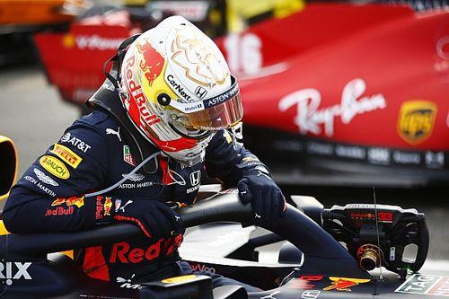 Verstappen neemt complimenten Mercedes met korreltje zout