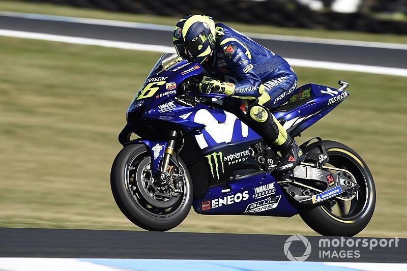 Rossi: Uzun boylu ve ağır olmam Vinales'e karşı beni dezavantajlı duruma düşürüyor