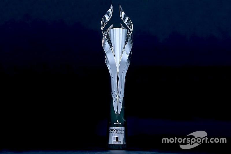 Így néznek ki a Mexikói Nagydíj idei trófeái az F1-ben: impozáns