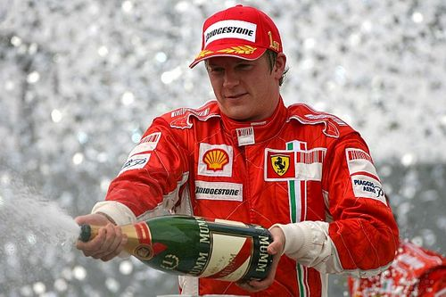 El día que Raikkonen se convirtió en el héroe de Ferrari