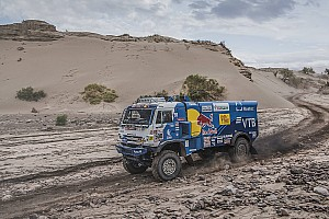 Dakar Tappa Dakar, Camion, Tappa 12: Nikolaev di nuovo in testa per un secondo!