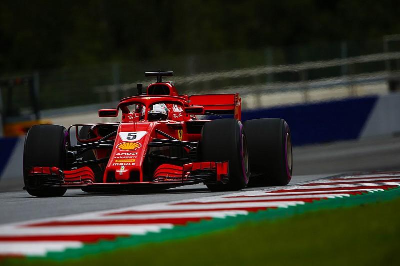 Trotz Mercedes-Dominanz: Vettel lobt guten Start in Spielberg