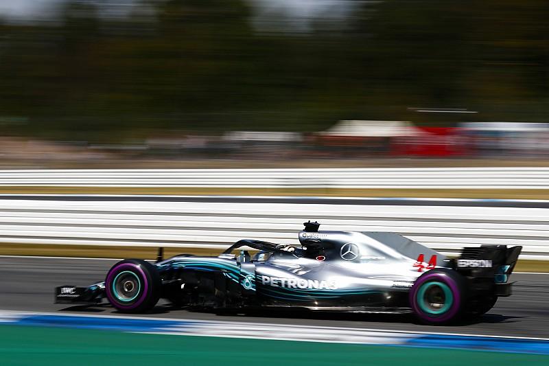 Mercedes ungkap kronologis rusaknya hidrolik Hamilton
