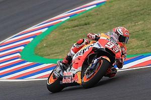 MotoGP Practice report MotoGP Argentina: Marquez puncaki warm-up, Honda dominan