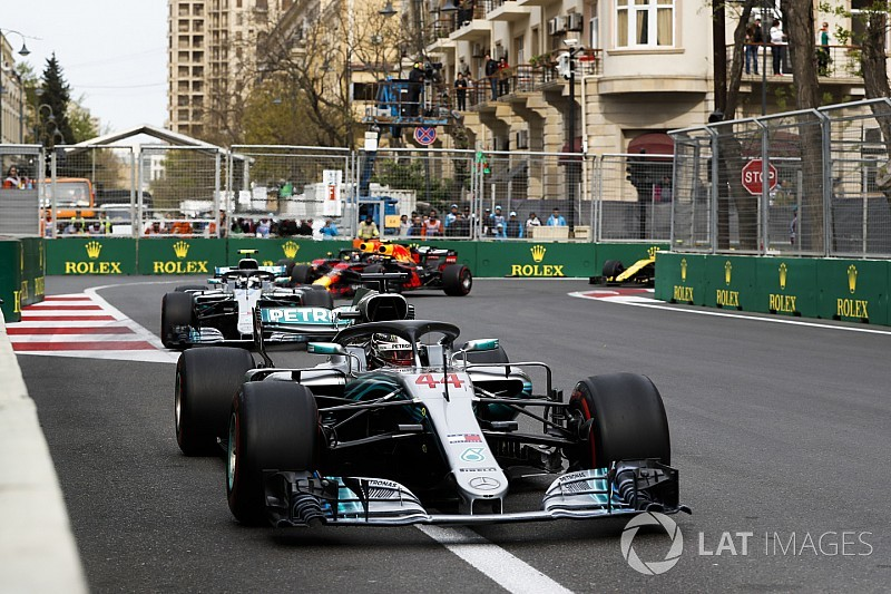"""Hamilton admits Baku win feels """"a bit odd"""""""