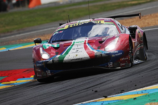 Le Mans Breaking news Ferrari paid price for 'honesty' at Le Mans - Calado