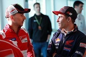 """MotoGP Nieuws Lorenzo: Incident Marquez kan met """"zwaardere sancties"""" voorkomen worden"""