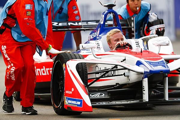 Formula E Formula E: Rosenqvist nyerte a második időmérőt Hong Kongban