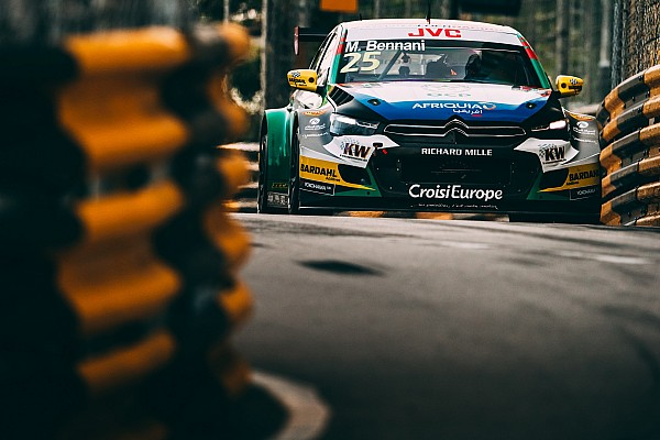 Macau WTCC: Bennani wins as Michelisz crash blocks track